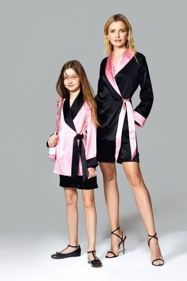 Silk set kimono + kids