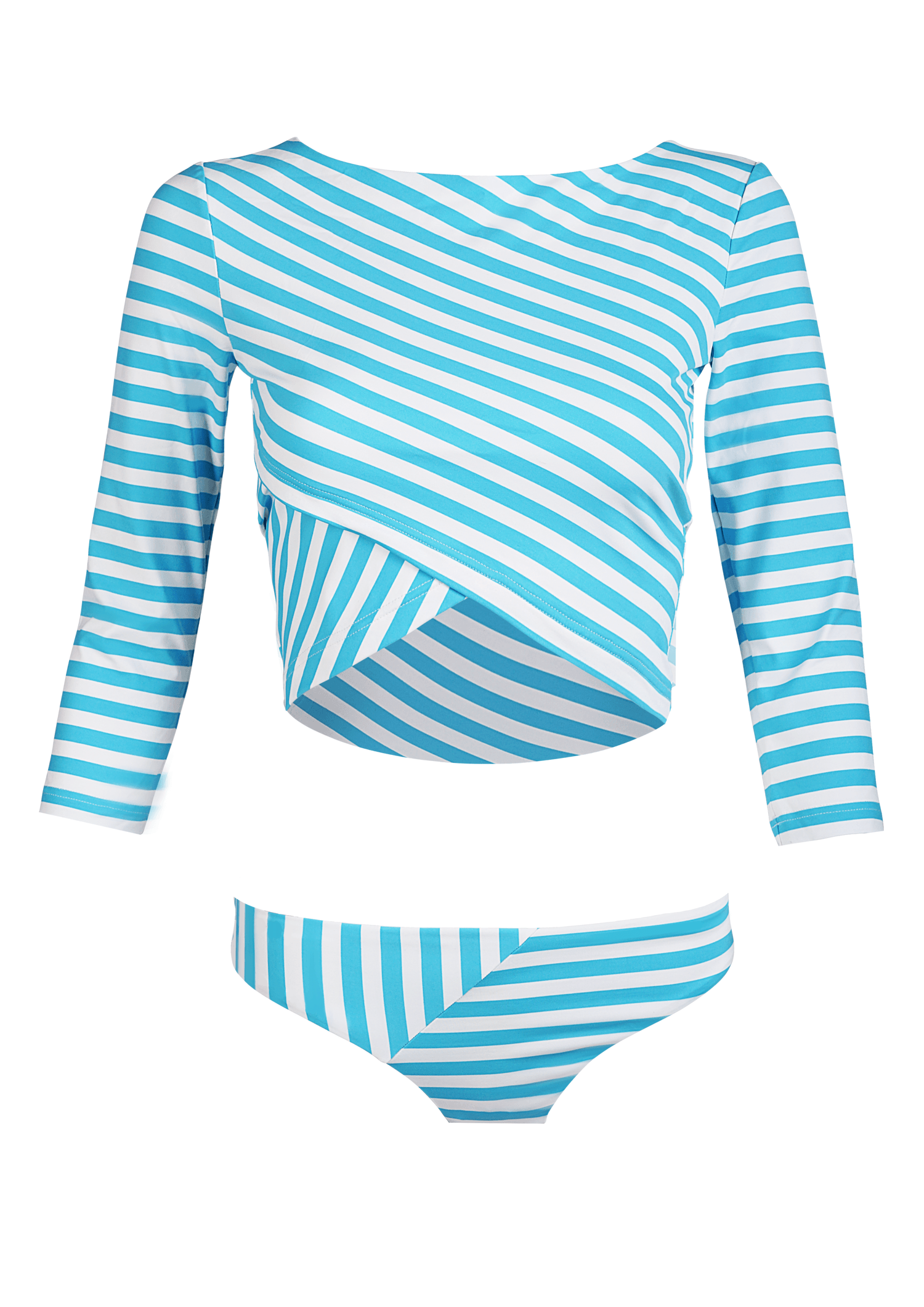 Yachting stripes + kids