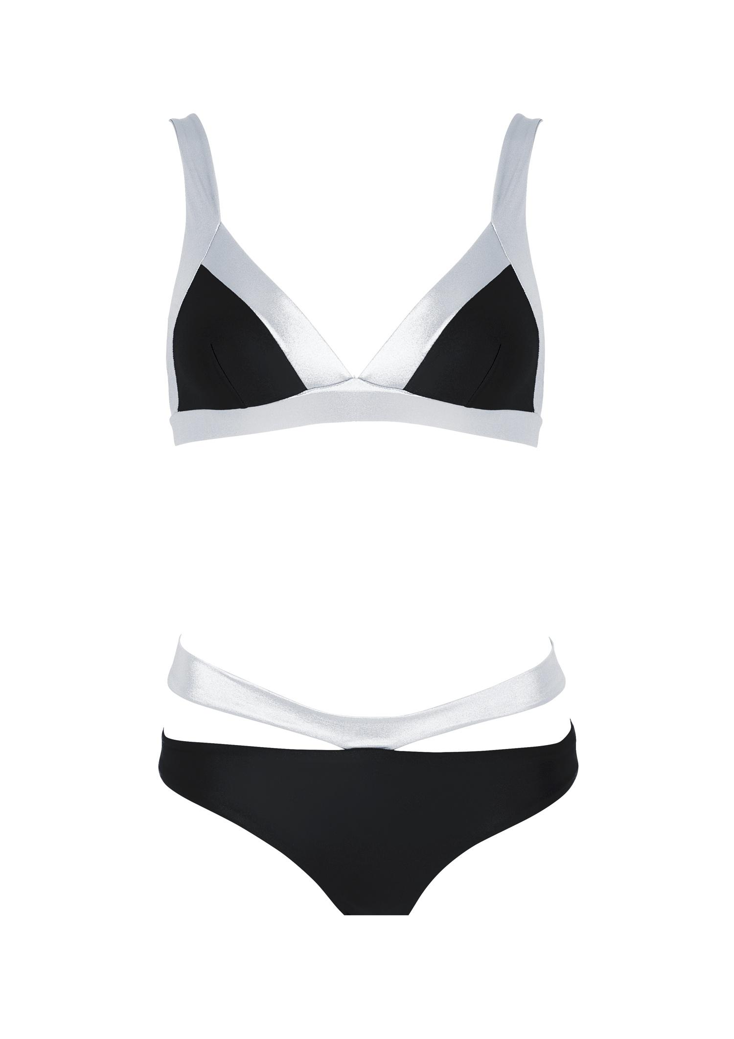 Bikini two-tone V-belt