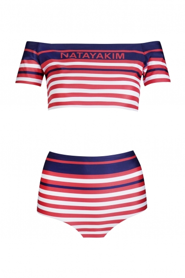 Retro stripes Logo + Kids $371 - 70% =
