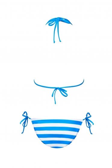 Teeny bikini wide stripes