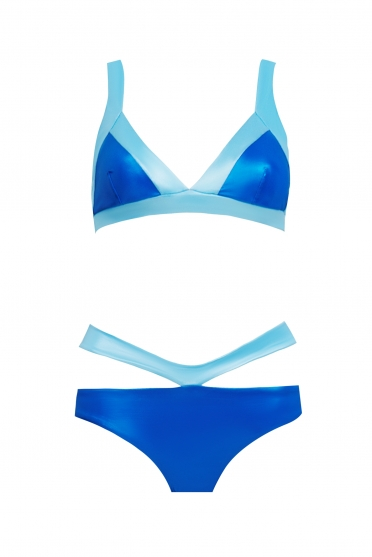 Bikini two-tone V-belt