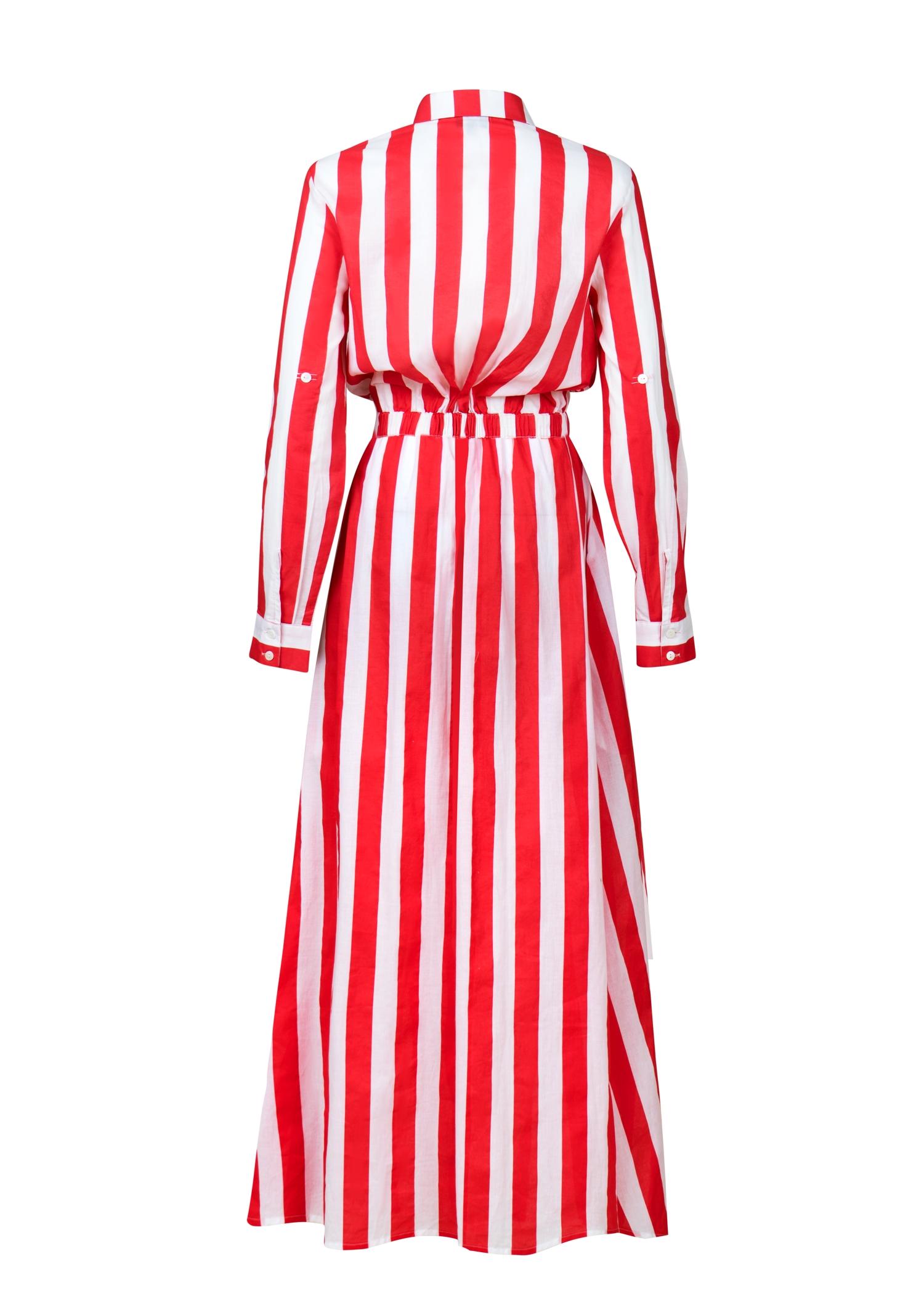 Dress stripes with Logo